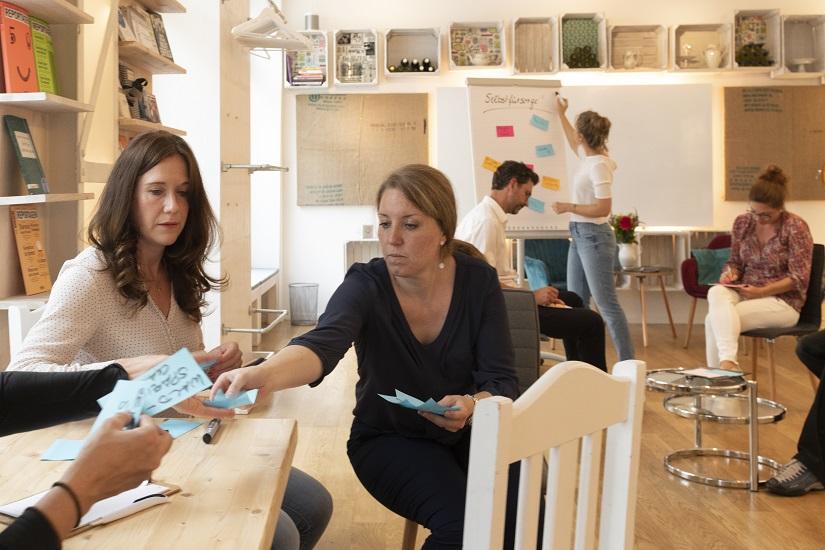arbeitssituation the café klein quer